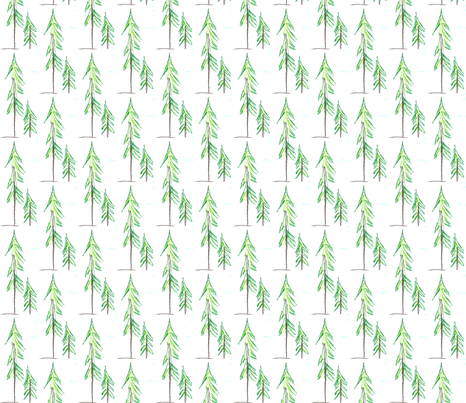 DragonTrees fabric by scoutmom131 on Spoonflower - custom fabric
