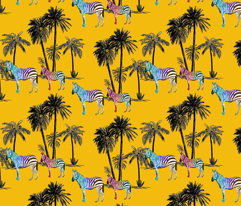 Painted Pony  fabric by deb*g on Spoonflower - custom fabric