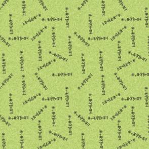 Enkibanda Cuneiform Green
