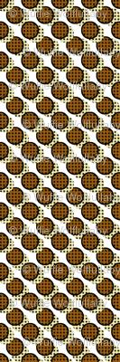 Pop Art Cookies - Diagonal Cookie Stripe