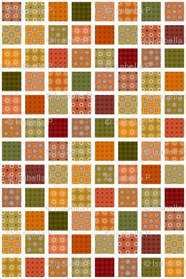 Winding Cotton Autumn Quilt