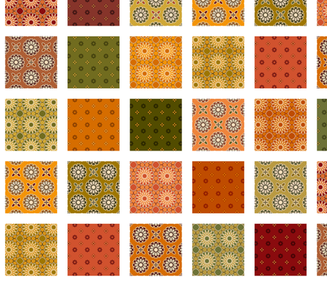 Winding Cotton Autumn Quilt fabric by inscribed_here on Spoonflower - custom fabric