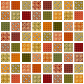 Winding Cotton Autumn Quilt