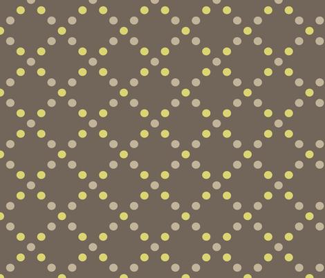 Dots gold-grey fabric by kayajoy on Spoonflower - custom fabric