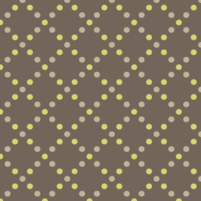 Dots gold-grey