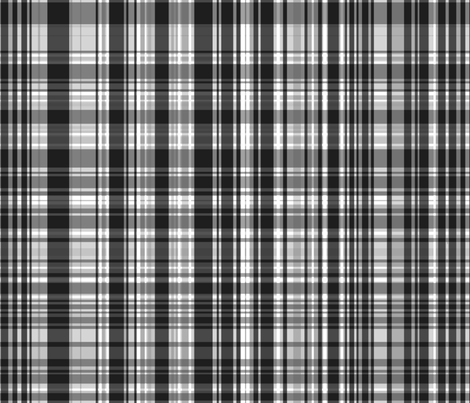 Gray Plaid fabric by pond_ripple on Spoonflower - custom fabric
