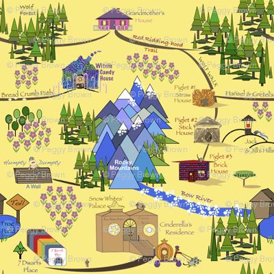 Fairy Tale Map 2
