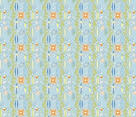 Pacific_Surf fabric by flyingtreestudios on Spoonflower - custom fabric