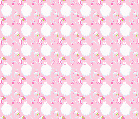 Pretty White Dresses fabric by eppiepeppercorn on Spoonflower - custom fabric
