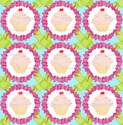cupcakes and ribbons