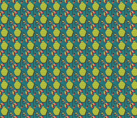 Auntie Mame fabric by eppiepeppercorn on Spoonflower - custom fabric
