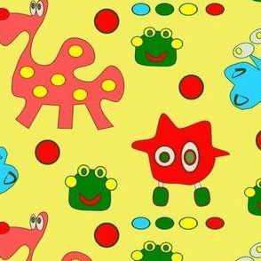 Imaginary friends for imaginary animal contest