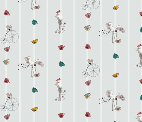 Imaginary Friends To Tea fabric by kelsie_nicole on Spoonflower - custom fabric