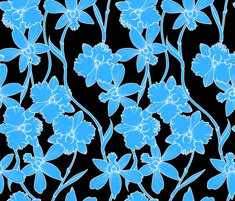 Orchid Mono fabric by jadegordon on Spoonflower - custom fabric