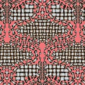 zentangle salmonpink