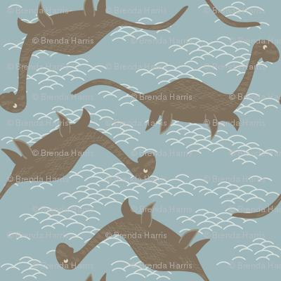 Floating Nessie