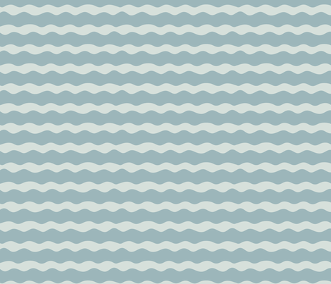 Waves fabric by creativebrenda on Spoonflower - custom fabric