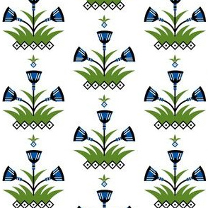 Papyrus fabric design