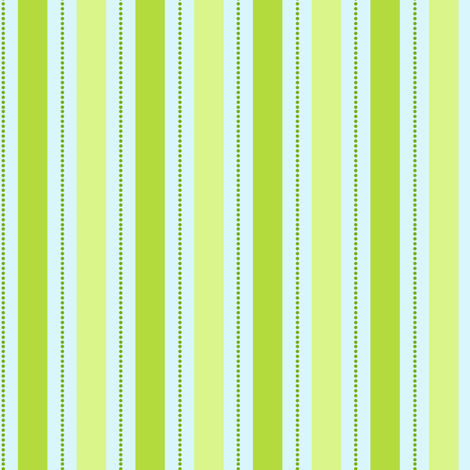 Spring Green Stripe fabric by countrygarden on Spoonflower - custom fabric