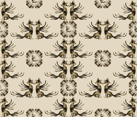 Catbird_Seated fabric by lisa_binion on Spoonflower - custom fabric