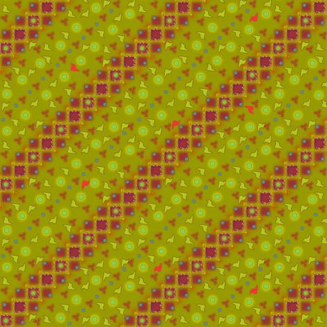 ©2011 Rose Fragments fabric by glimmericks on Spoonflower - custom fabric