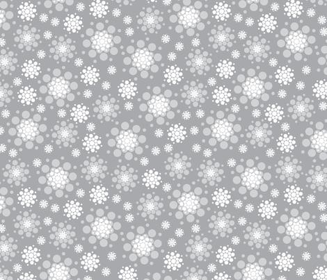 SnowBurst fabric by cynthiafrenette on Spoonflower - custom fabric