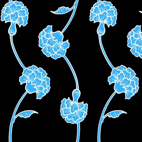 Carnation Monochrome fabric by jadegordon on Spoonflower - custom fabric
