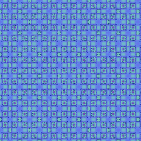 ©2011 Blue Fragments 02 fabric by glimmericks on Spoonflower - custom fabric