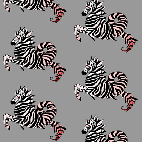 The SeaHorse fabric by beesocks on Spoonflower - custom fabric