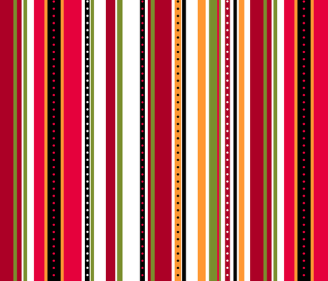 Coordinate Stripes 2 fabric by jadegordon on Spoonflower - custom fabric