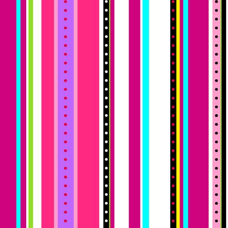 Coordinate Stripes 3 fabric by jadegordon on Spoonflower - custom fabric