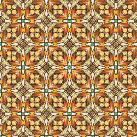 Poliviel's Tiles fabric by siya on Spoonflower - custom fabric
