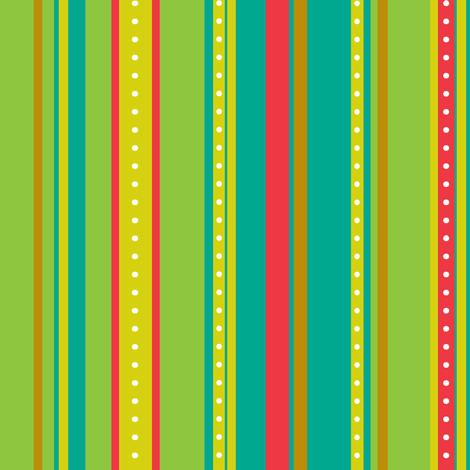 Coordinate Stripes 4 fabric by jadegordon on Spoonflower - custom fabric