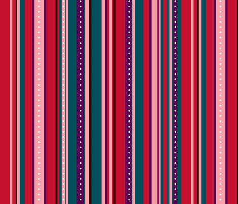 Coordinate Stripes 6 fabric by jadegordon on Spoonflower - custom fabric