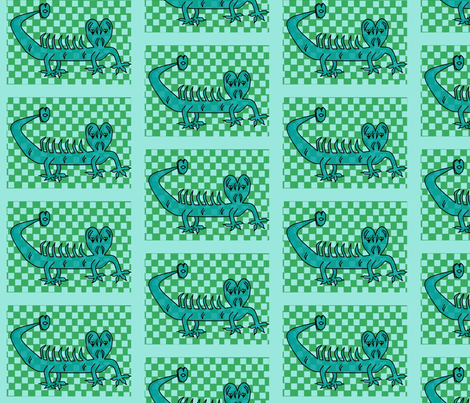 animal_bouche fabric by paky on Spoonflower - custom fabric