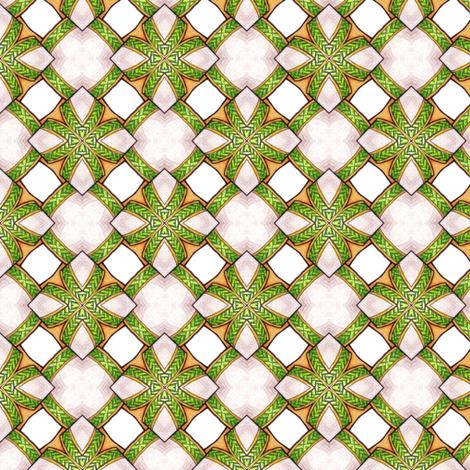 Braided Tiles fabric by siya on Spoonflower - custom fabric