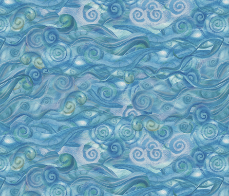 underwater fabric by twobloom on Spoonflower - custom fabric