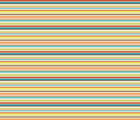 stripes matching floral fabric by christy_kay on Spoonflower - custom fabric