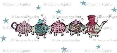 Mr. Cateapillar under the stars