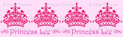 Pink on Pink Princess Lee