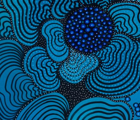 Aquatic fabric by luisamaria on Spoonflower - custom fabric
