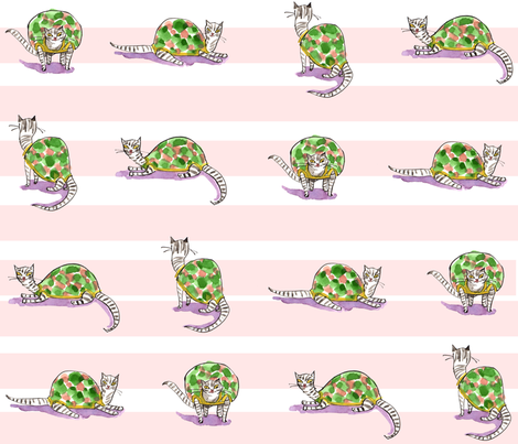 tortoise_shells fabric by cinqchats on Spoonflower - custom fabric