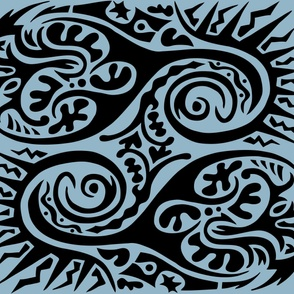 Tribe stencil