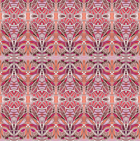 Oooga Booga Hawaiian Shirt Print fabric by edsel2084 on Spoonflower - custom fabric