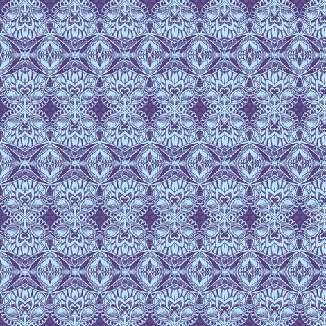 A Twinkle of Periwinkle fabric by edsel2084 on Spoonflower - custom fabric