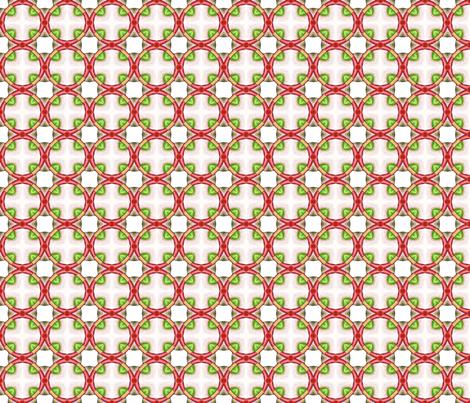 Red Rings fabric by siya on Spoonflower - custom fabric