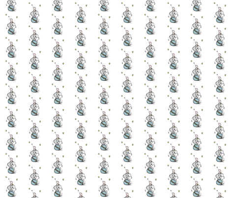 Large Tremendous Help fabric by gumball_grenade on Spoonflower - custom fabric