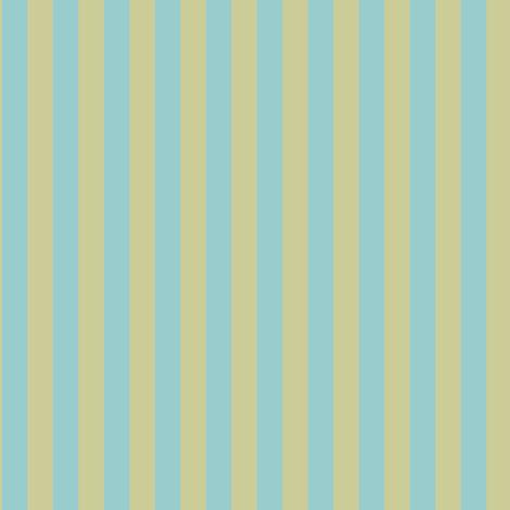 Sage Aqua Stripe fabric by countrygarden on Spoonflower - custom fabric