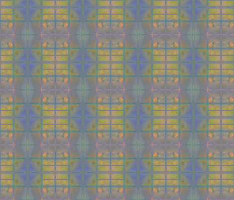 Garden Window Poppies Abstract Large © 2011 Gingezel™ Inc. fabric by gingezel on Spoonflower - custom fabric