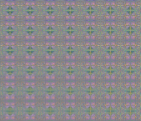 Rose Trellis Abstract small © 2011 Gingezel™ fabric by gingezel on Spoonflower - custom fabric